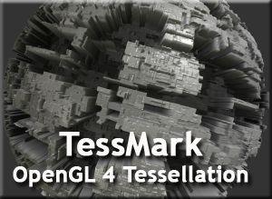 TessMark - OpenGL 4 Benchmark - GPU Tessellation
