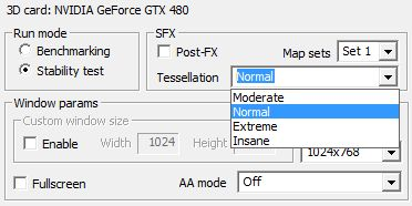TessMark - Tessellation modes