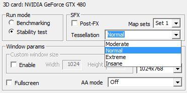 TessMark - Tessellation modes