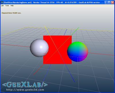 PyOpenGL + GeeXLab