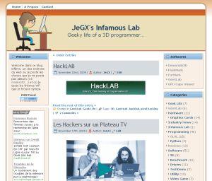 Computer Tech Geek - WordPress theme