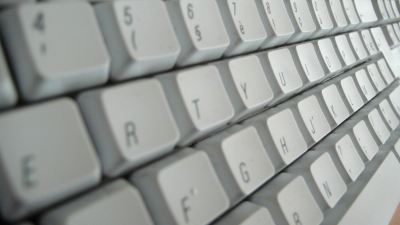 Un clavier azerty - trop cool!