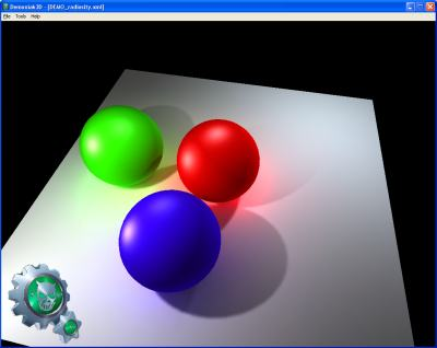 oZone3D Net - Demoniak3D - Scriptable 3D Engine - Real time