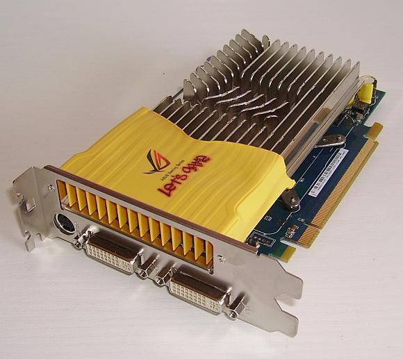 Asus 8600GT 512MB DDR3 PCI-E Fanless