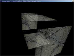 OpenGL Blending And texturing - VertexBuffer.