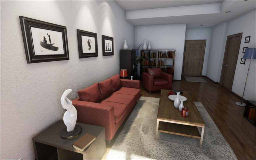 Unreal Engine 4 Realistic Rendering Demo Direct3d 11