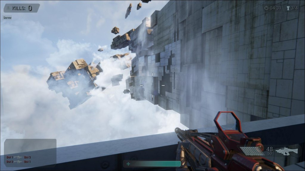 Unreal Engine 4 - Shooter game demo (Direct3D 11)