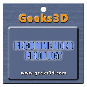Geeks3D recommended product