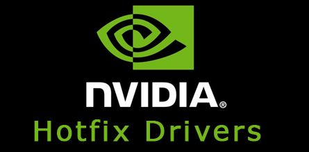 NVIDIA hotfix/beta graphics drivers