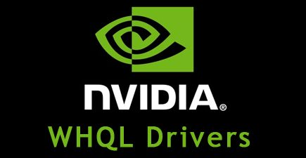 NVIDIA WHQL graphics drivers