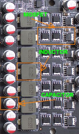 Asus EAH 5830 DirectCU - VRM details