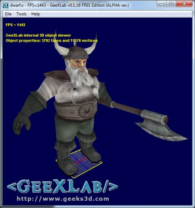 GeeXLab - Assimp loader