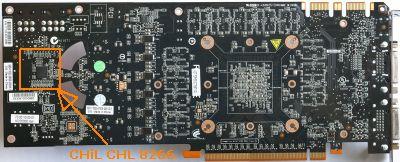 GTX 480 PCB back