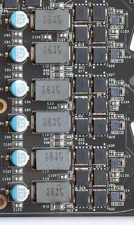 GTX 480 VRM detail