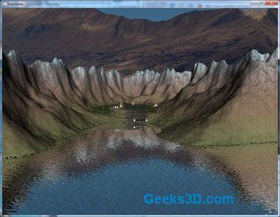 RuinIsland: OpenGL / GLSL Demo with Full Source Code
