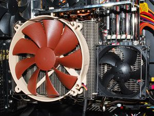 Thermalright Spitfire GPU and VRM cooler with fans