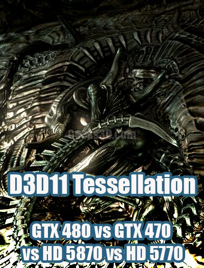 AVP DX11 Tessellation Battle: GTX 480 vs GTX 470 vs HD 5870 vs HD 5770