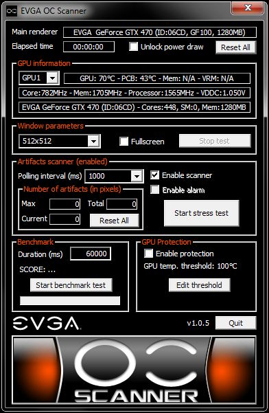 EVGA OC Scanner 1.0.5