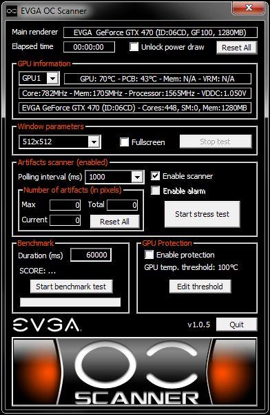 EVGA OC Scanner 1.0.5