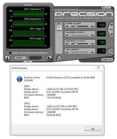 EVGA Precision 1.9.3