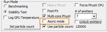 FluidMark - GPU PhysX