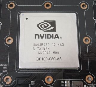 GF100 GPU of the GTX 465