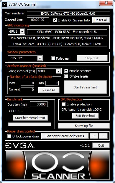EVGA OC Scanner 1.2.1