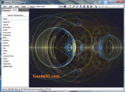 Fractron 9000: GPU (OpenCL) Fractal Flame Renderer