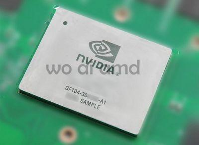 GF104 chip - GTX 460 GPU