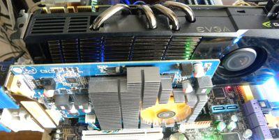 JeGX's rig: GTX 480 + GT 240