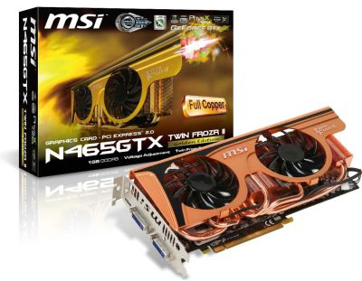 MSI N465GTX Twin Frozr II Golden Edit