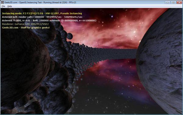 OpenGL geometry instancing