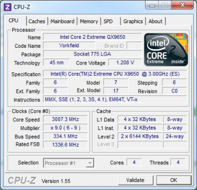 CPU-Z 1.55