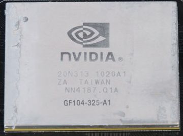 NVIDIA GF104 GPU