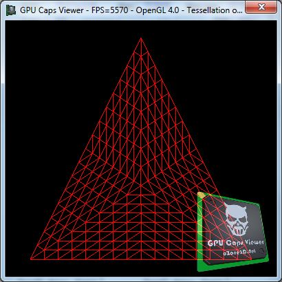 OpenGL 4 tessellation - Outer and inner levels