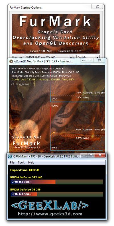 GPU-M: A Simple GPU Temperature Monitor coded with GeeXLab
