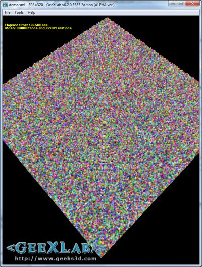GeeXLab - Random Number Generator in GLSL