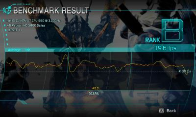 Lost Planet 2 DX11 Benchmark - Test B - Radeon HD 5870