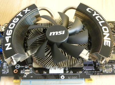 MSI N460GTX Cyclone