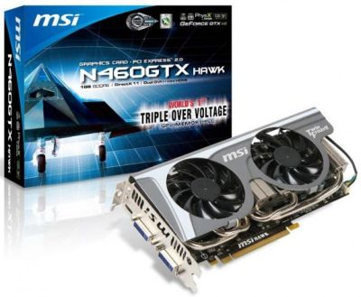 MSI N460GTX Hawk