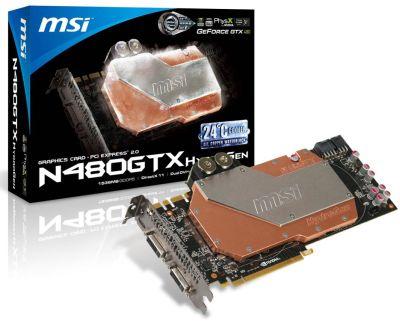 MSI N480GTX HydroGen
