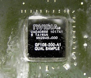 NVIDIA GF108 GPU