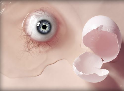 Pixel hacking - Egg's eye