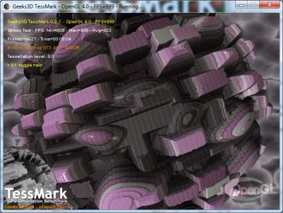 TessMark - OpenGL 4 tessellation