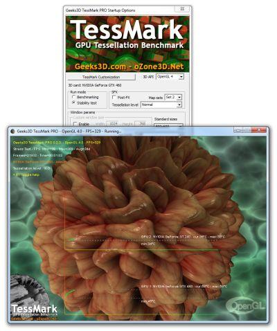 TessMark PRO - OpenGL 4 tessellation benchmark