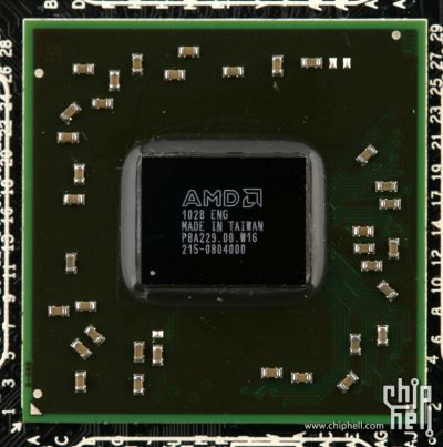 AMD HD 6350 Caicos GPU