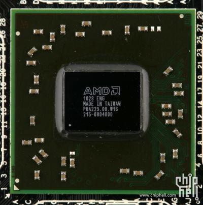 AMD HD 6350 Caicos GPU