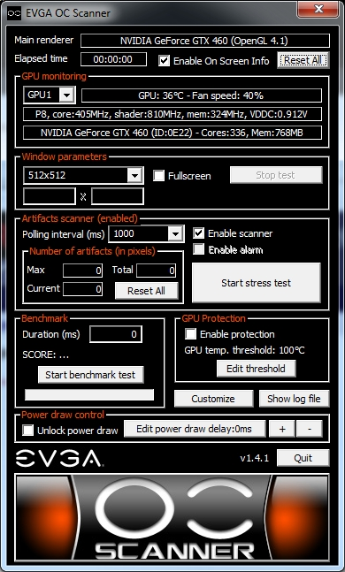 EVGA OC Scanner 1.4.1