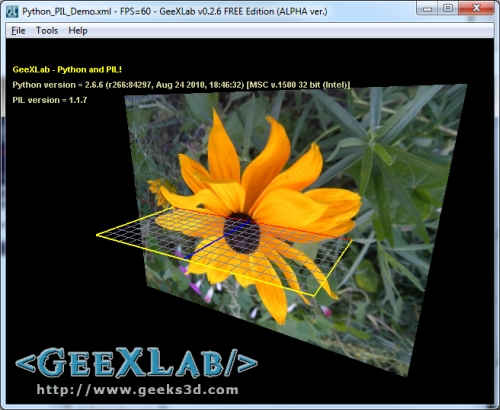 Tutorial) First Steps with PIL: Python Imaging Library | Geeks3D