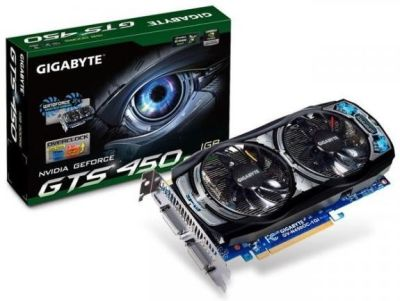Gigabyte GeForce GTS 450 OC